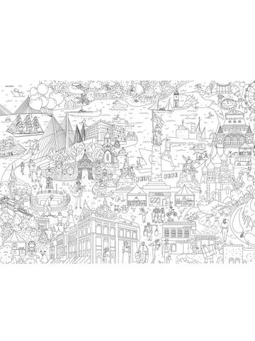 Владивосток: гигантская раскраска-плакат - купить по ...