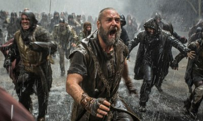 Russell Crowe leads an all-star cast in Noah