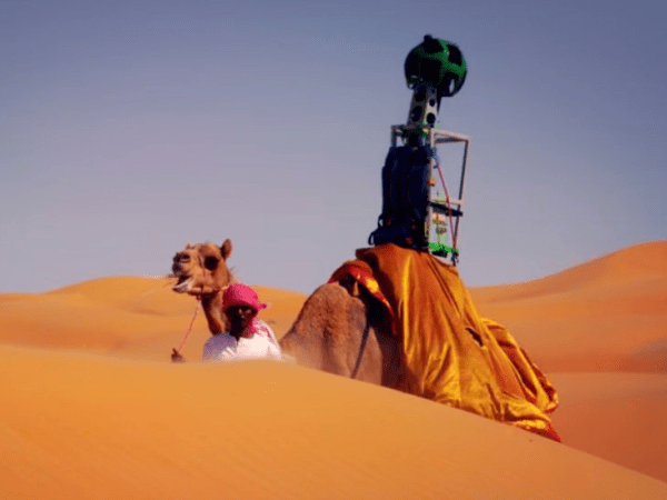 VIDEO: Google Strapped A Street View Camera To A Camel's ...