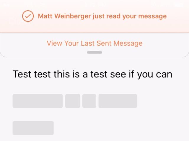 confide redaction test