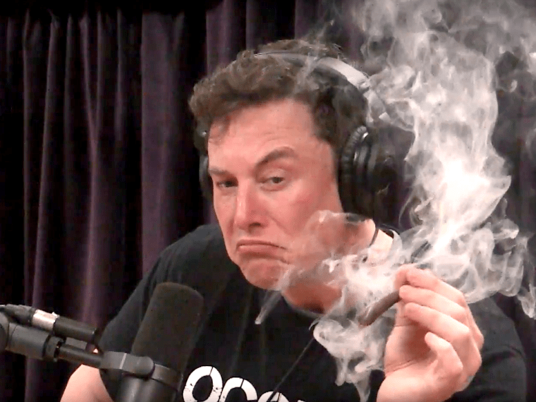 Image result for free to use image of elon musk smoking joint