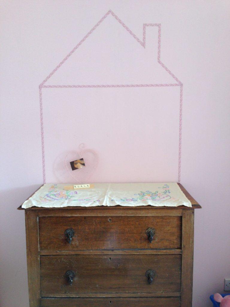 washi tape dollshouse