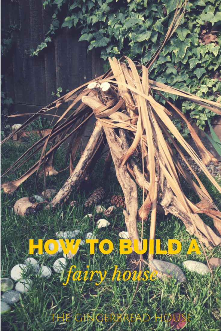 how to build a fairy house - the gingerbread house