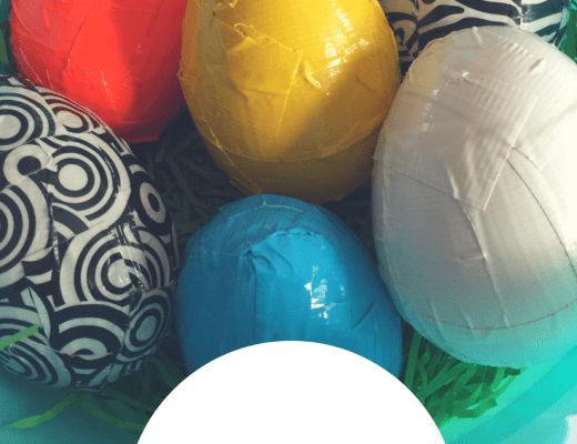 How to make Duck Tape Easter Eggs