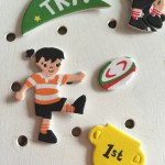 Rugby World Cup stickers