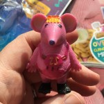 Tiny figurine from Clangers magazine