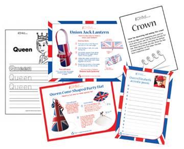 the Queen's 90th birthday activities for children
