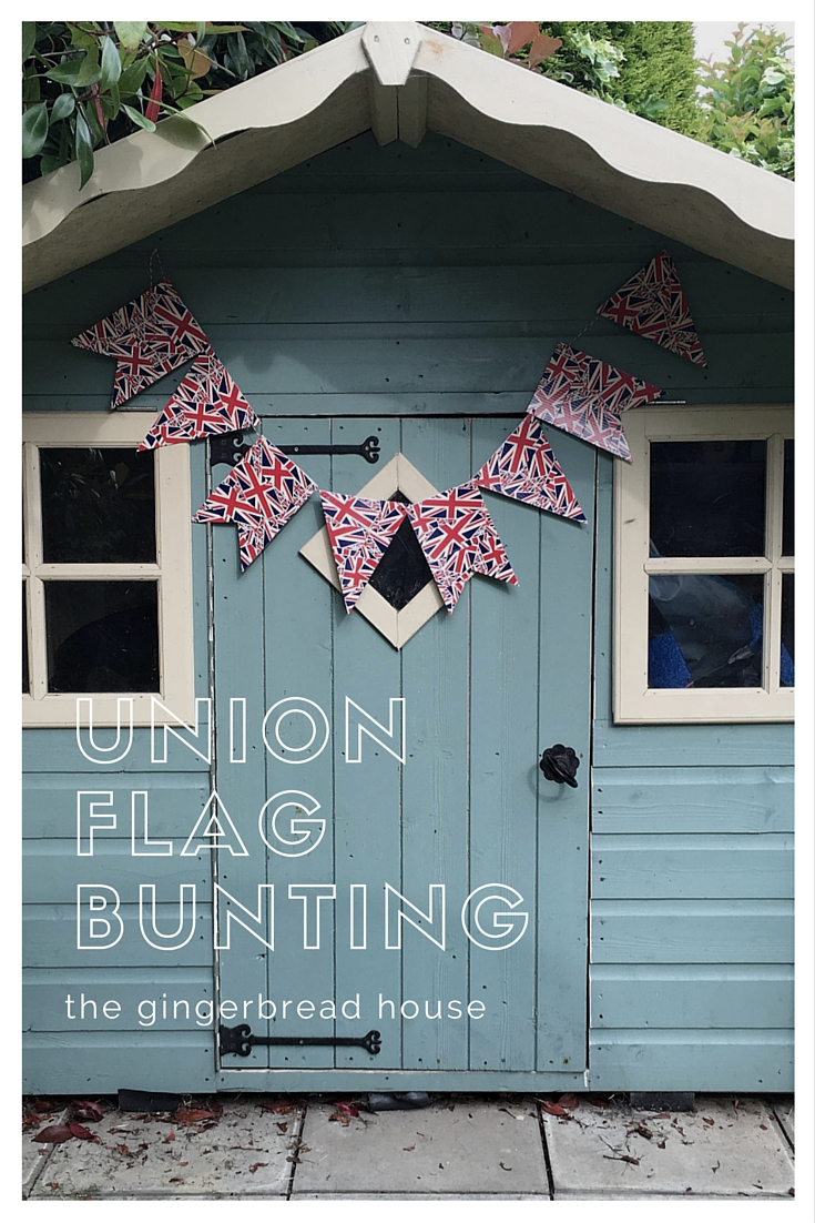How to make Union flag bunting
