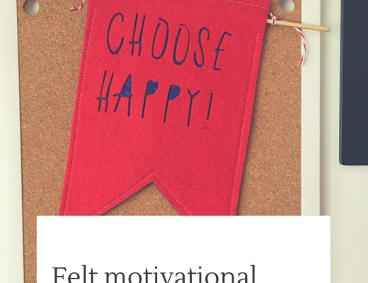 Choose Happy! motivational banner