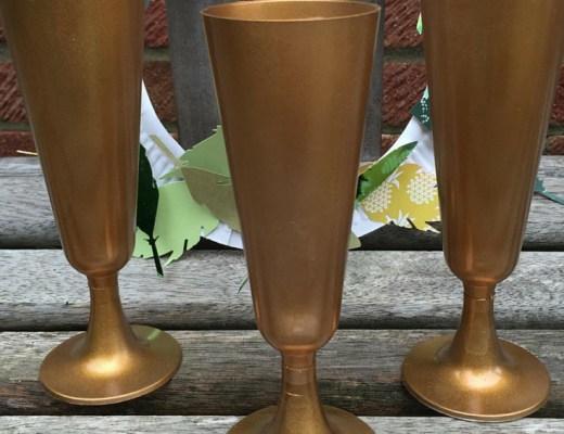 DIY gold winners trophies craft