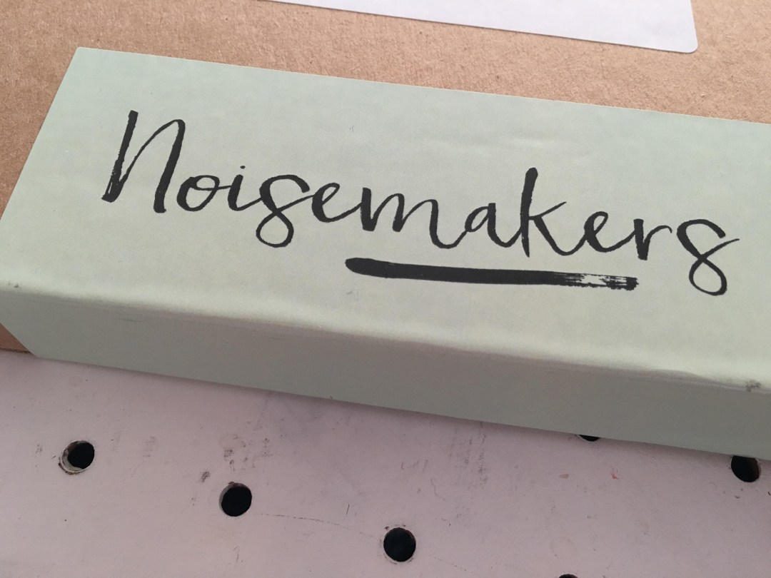 Noisemakers birthday card subscription box