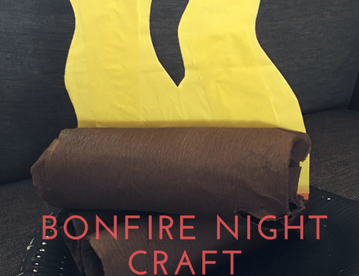 Bonfire Night craft for kids
