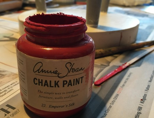 painting with Annie Sloan