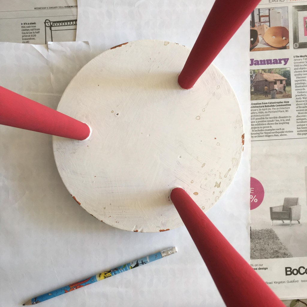 painting with Annie Sloan paint