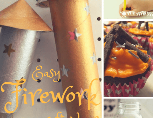 easy firework crafts for kids