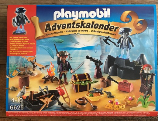 Playmobil Advent Calendar {Pirate Treasure Island}