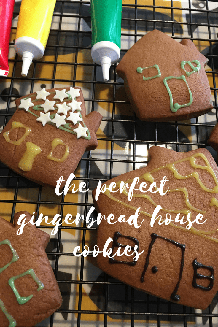 How to bake the perfect gingerbread house cookies