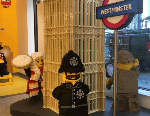 The Lego Store in Leicester Square