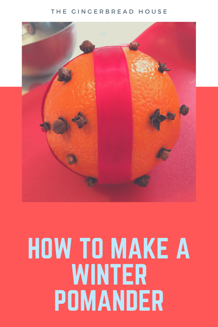 How to make a winter pomander
