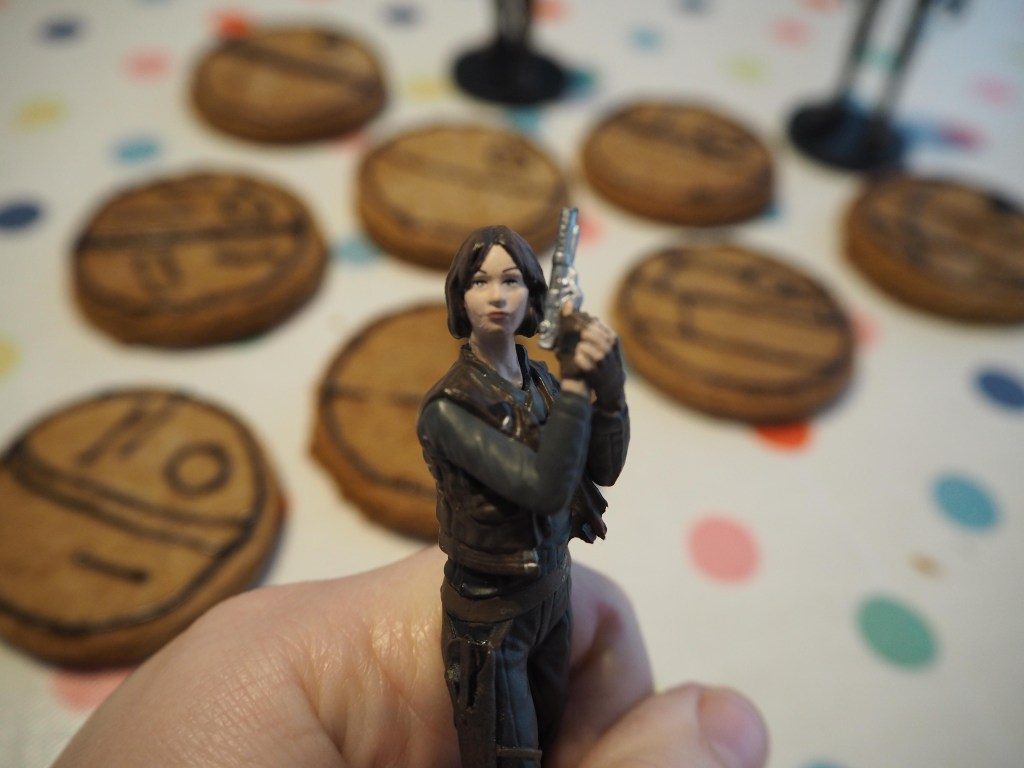 Jyn Erso's Death Star cookies