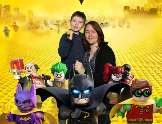 The Lego Batman Movie souvenir photograph