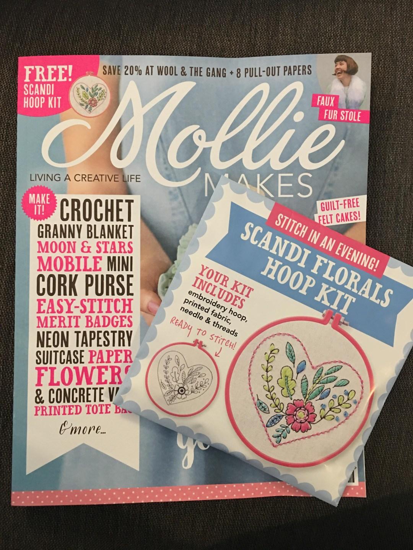 Mollie Makes Scandi Florals Hoop Kit