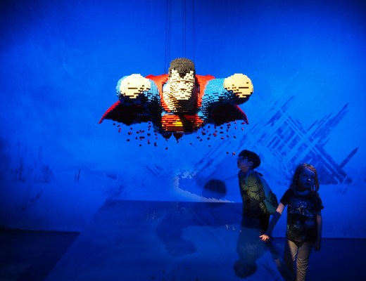 The Art Of The Brick: DC Super Heroes in London