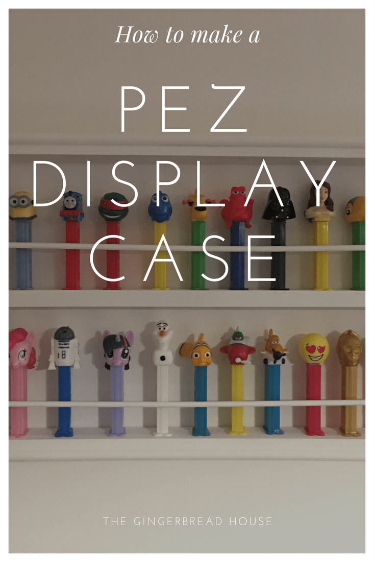 How to make a Pez display case