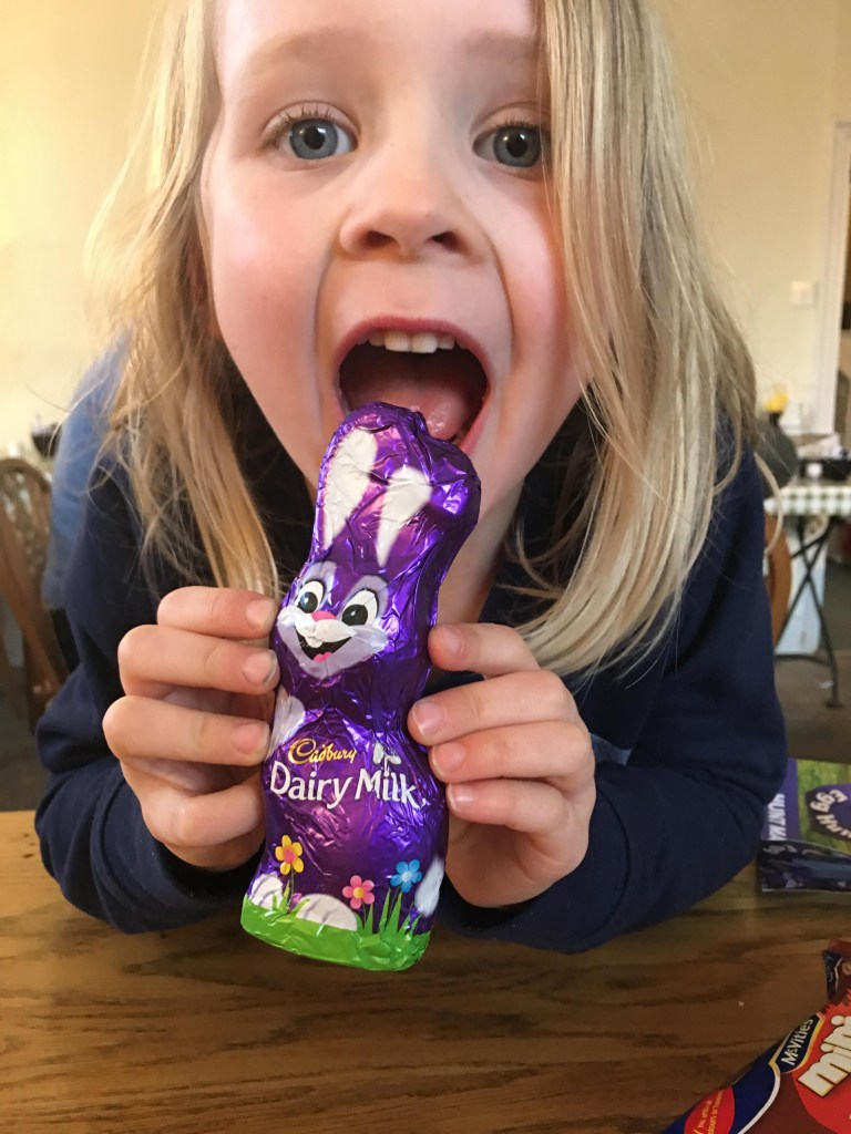 an Easter egg hunt at Lytes Cary Manor