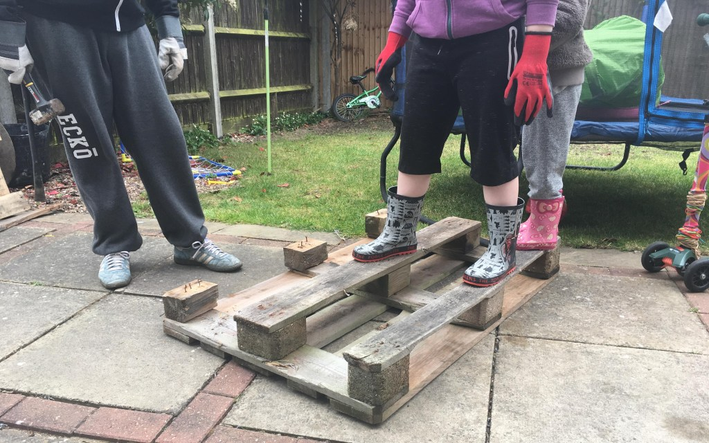 How to build a bug hotel from a pallet