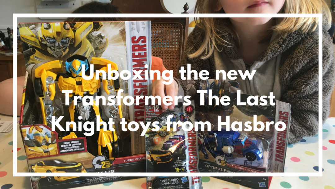 Unboxing the new Transformers The Last Knight toys from Hasbro