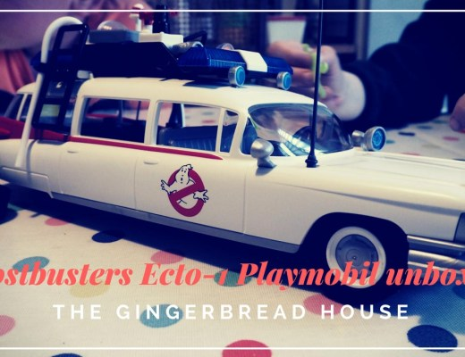 New Playmobil Ghostbusters range and Ecto-1 unboxing