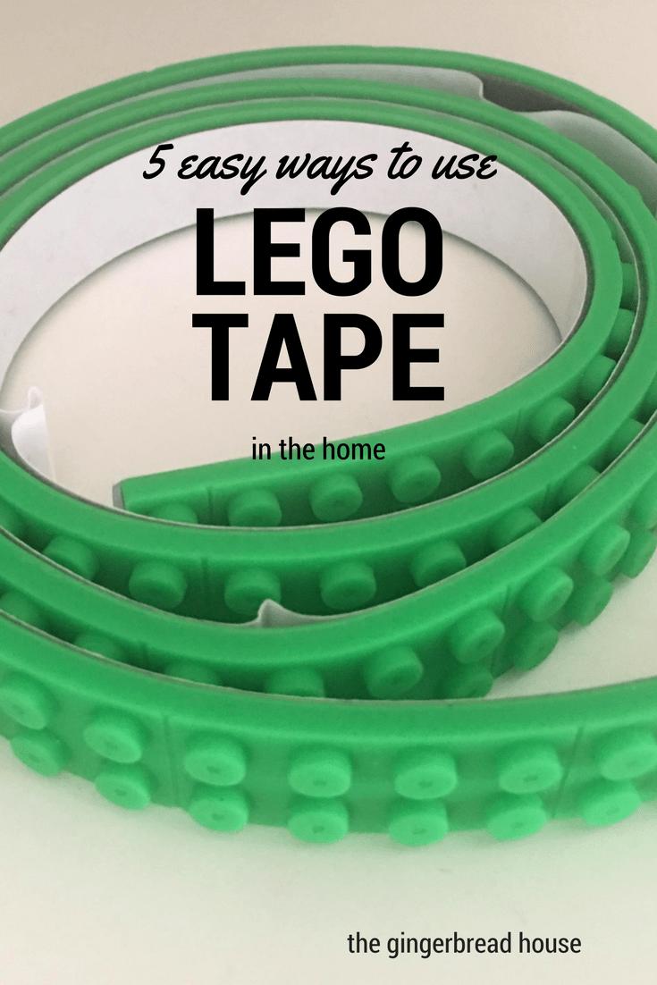 5 ways to use Lego tape