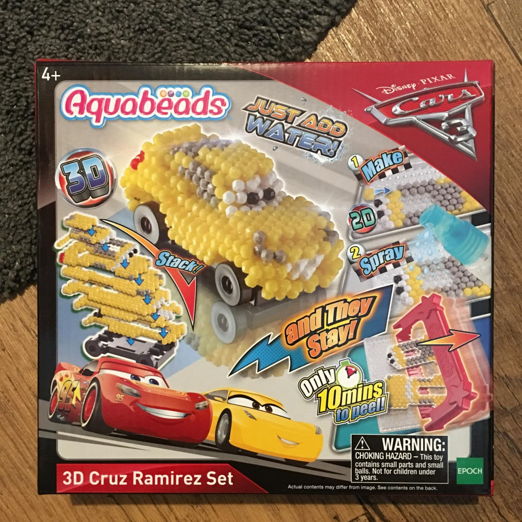 Aquabeads 3D Cruz Ramirez Set from Disney Cars3