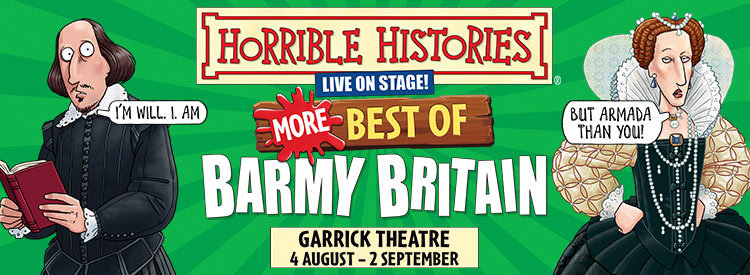 Horrible Histories - More Best of Barmy Britain!