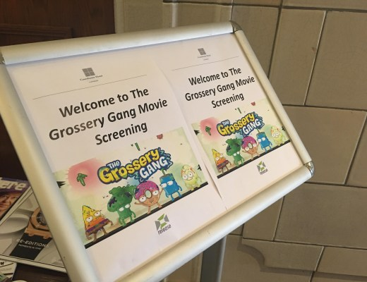 Fun at The Grossery Gang Movie London premiere