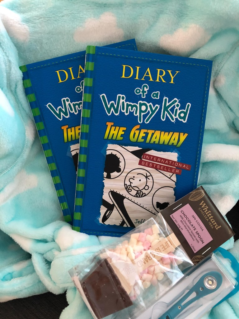 sleepover kit from Puffin Books