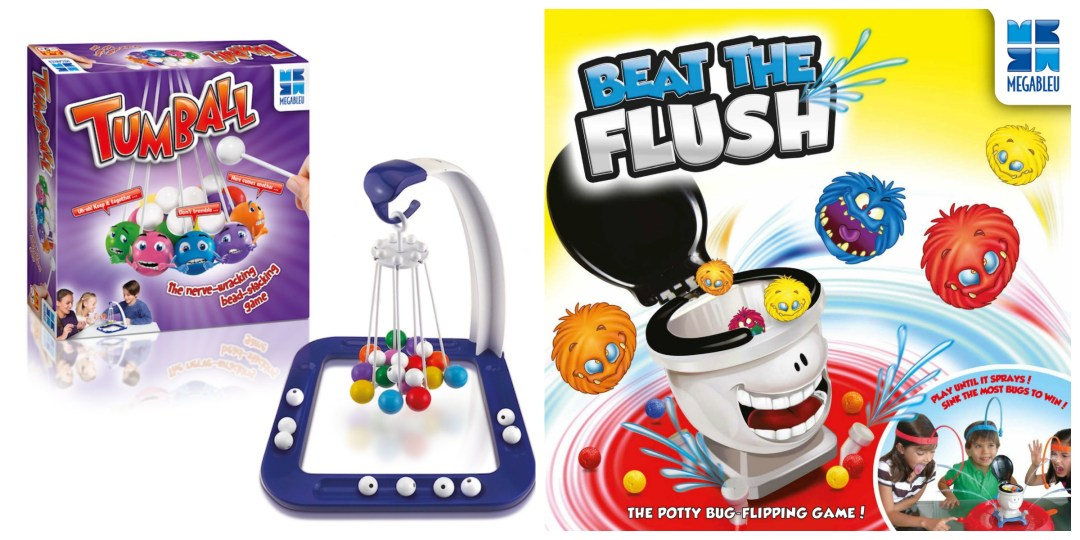 Win Tumball and Beat The Flush games from Megableu