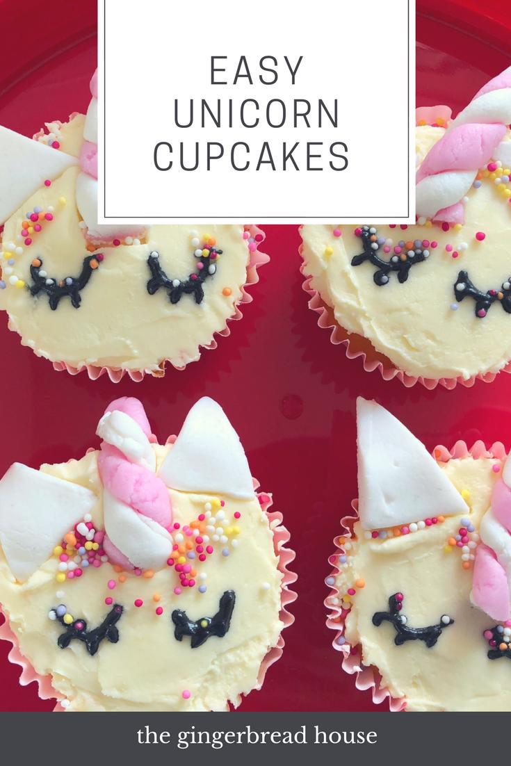 Easy Unicorn cupcakes {thanks to Lakeland}