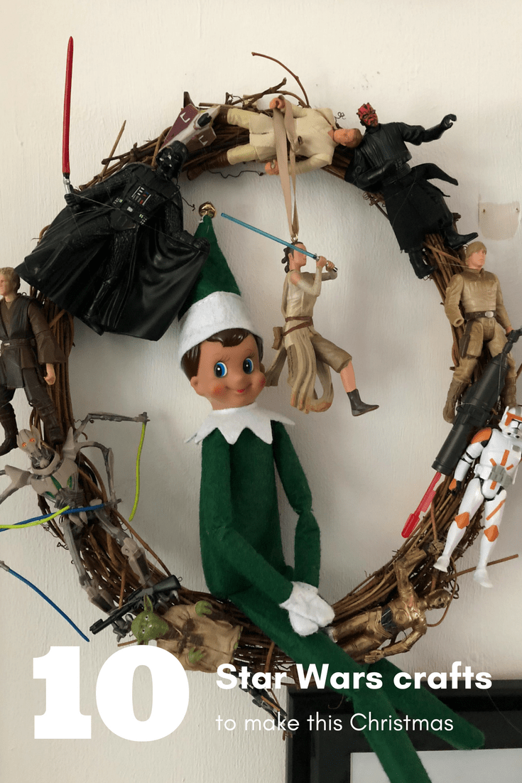 10 Star Wars Christmas decorations to make