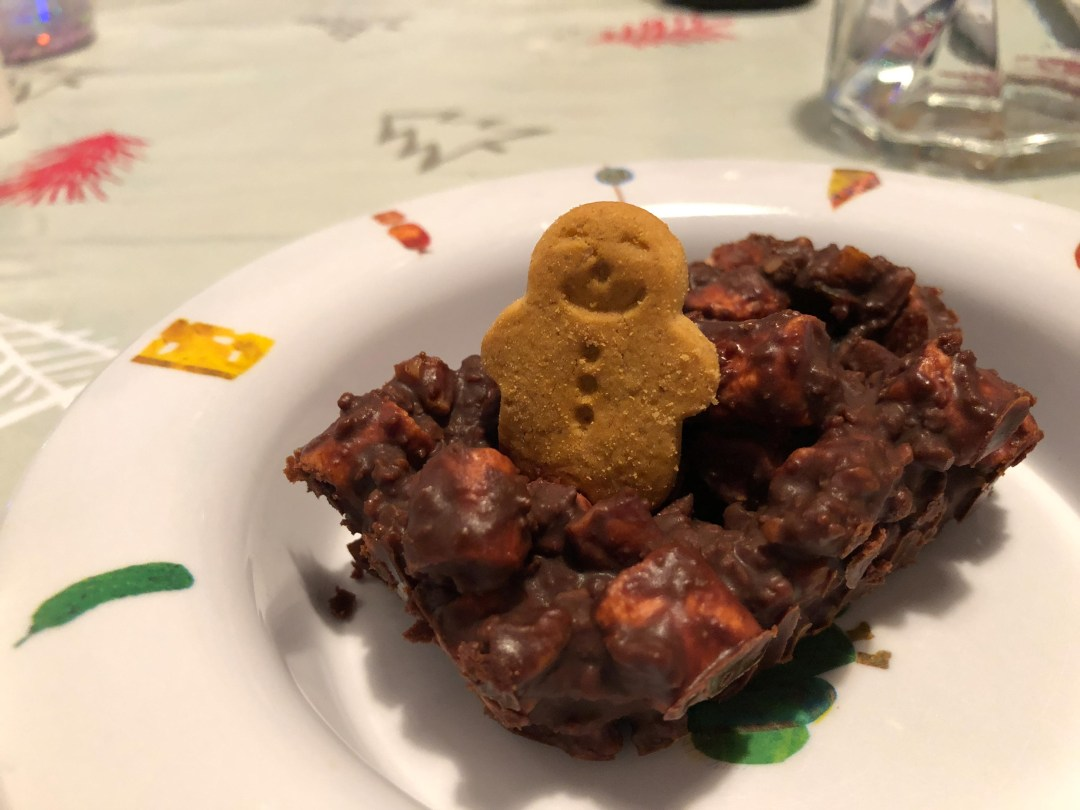 How to make Gingerbread Rocky Road