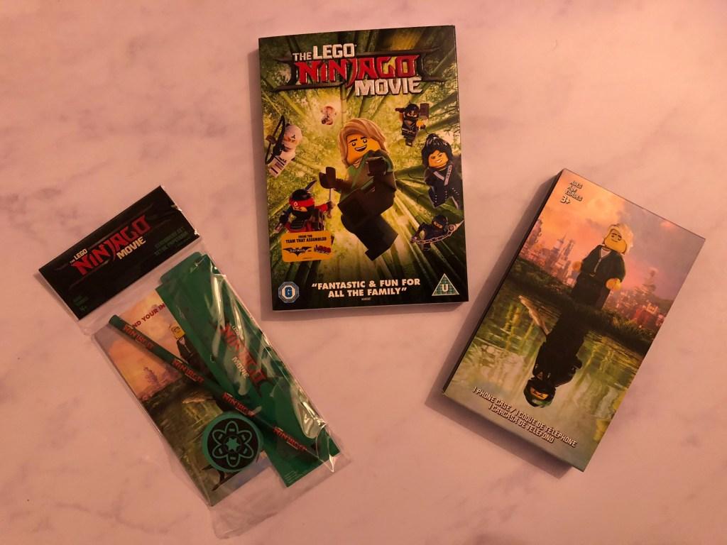 win a The LEGO NINJAGO Movie goody bag