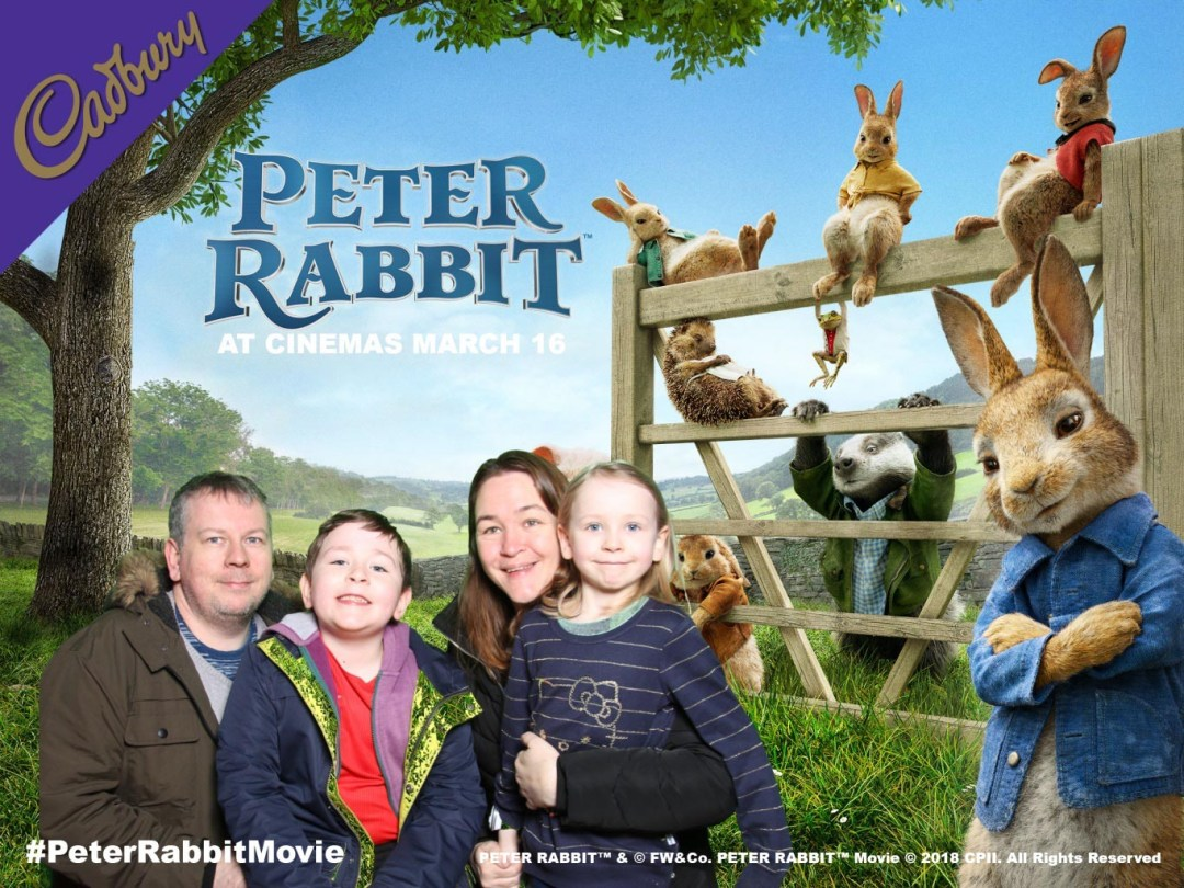 peter rabbit film london preview