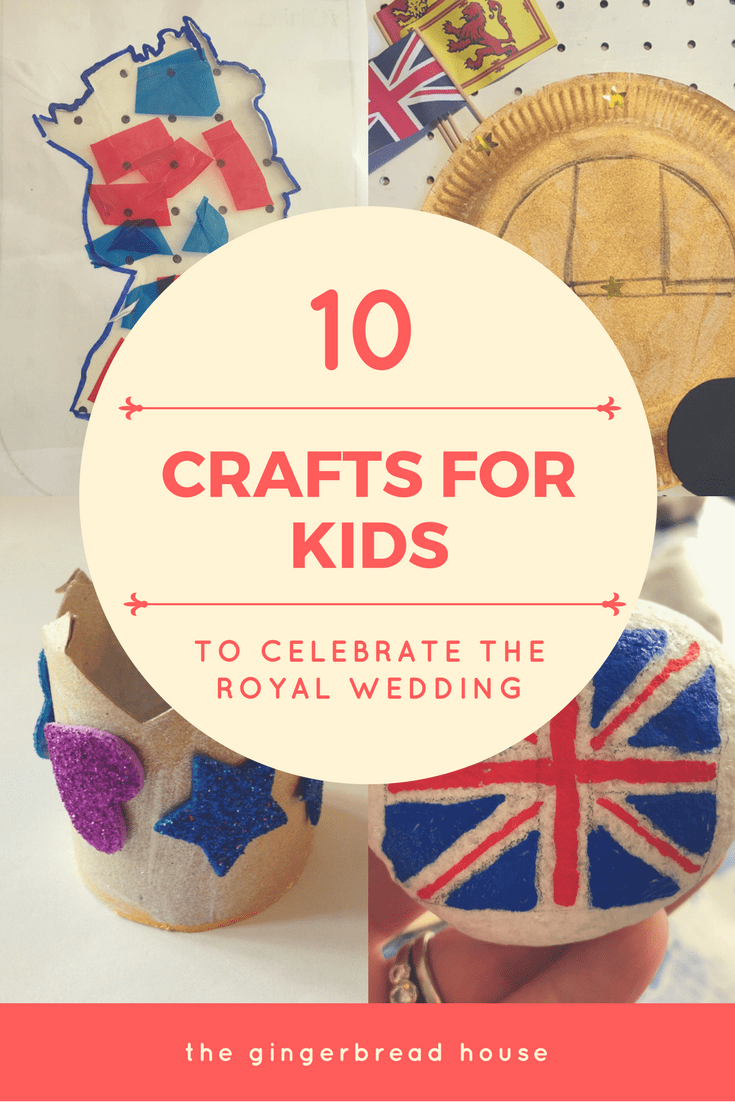 10 Royal Wedding crafts