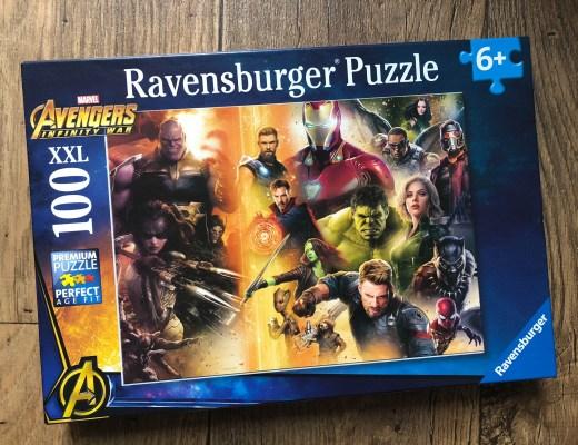 Avengers Infinity War jigsaw