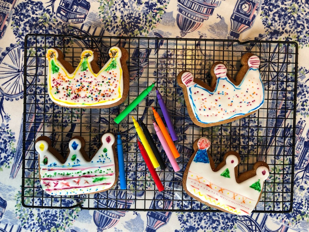 gingerbread crown craft for kids