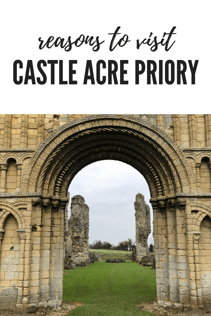 reasons to visit Castle Acre Priory