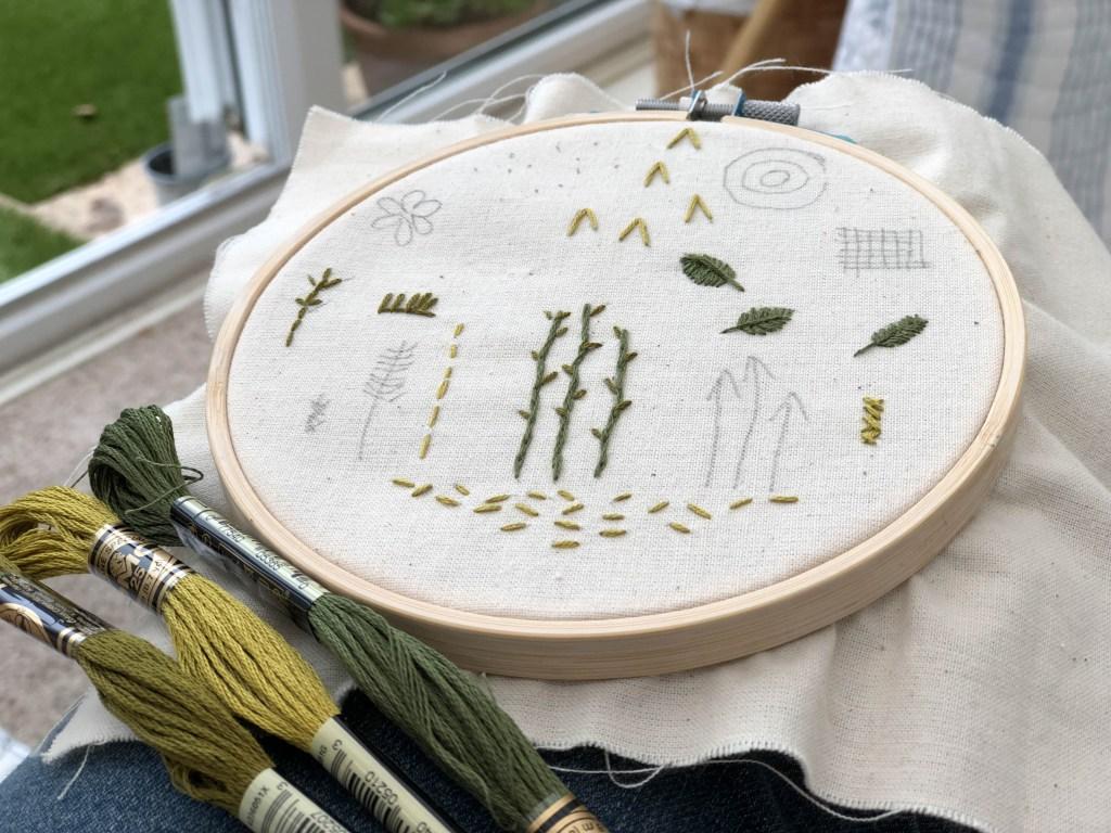 Botanical Stitch Practice