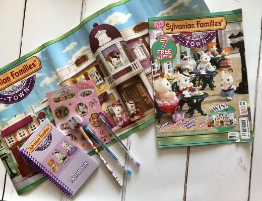 Win a We Love Sylvanian Families Town magazine