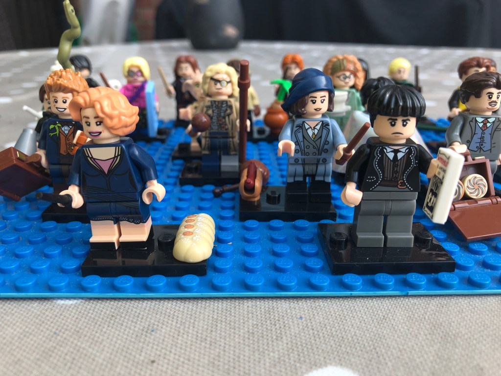 Harry Potter minfigs complete set?